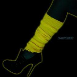 UV neon lábszárvédő