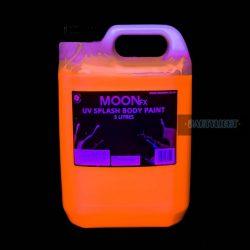 MOON UV NEON Body splash  festék 5 Liter