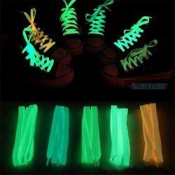 Sötétben világító (fluoreszkáló) cipőfűző