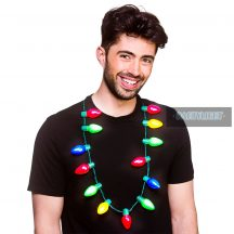 Party Light Ledgömb nyaklánc multicolor