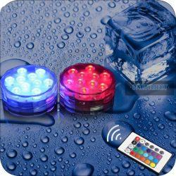 Távirányítós RGB mécses 2 db-os