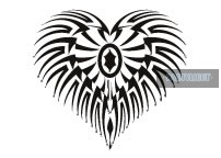 Glow Let Your Heart Glow Tattoo 7,5 x 7,5 cm