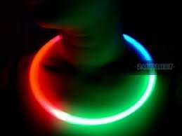Világító nyaklánc 50 db 3 színű