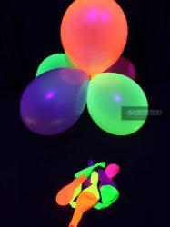 Neon lufi 30 cm (10 db)