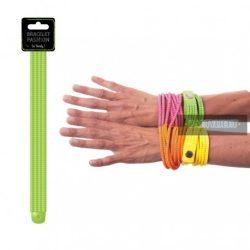 Neon fashion karkötő