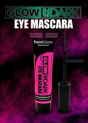 UV+ foszforeszkáló szempillaspirál (Eye mascara) - Világító ... 866d78c494