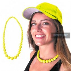 Neon Fluo gyöngynyaklánc
