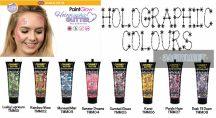 UV hologramos Chunky kozmetikai glitter