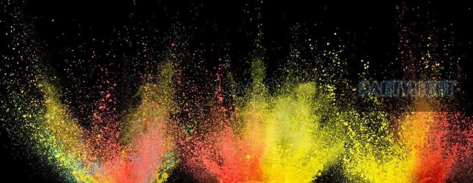 holi color por