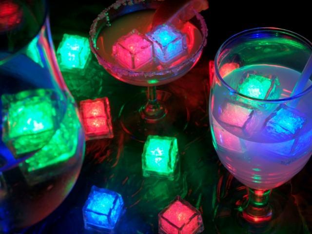Világító jégkocka - Mit jelentenek a színek?